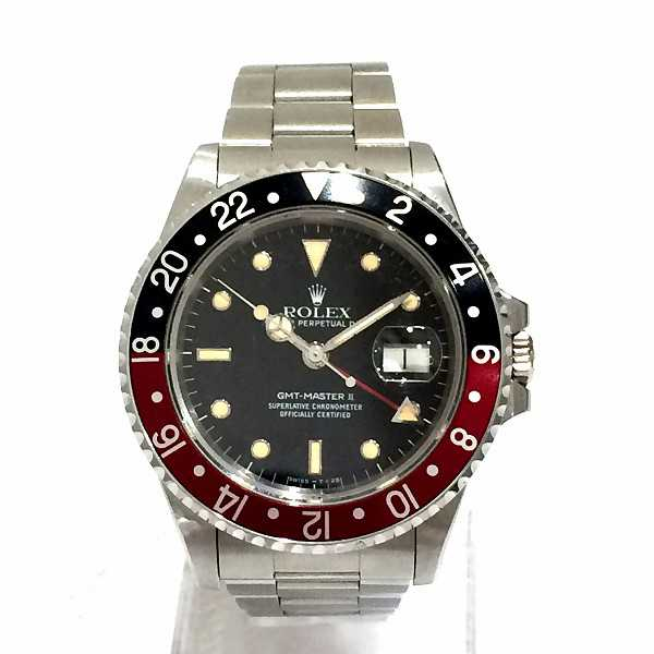 innovative design 4a86c 1e6e0 ロレックス GMTマスターⅡ 16710のお買取り参考価格 | 時計 ...