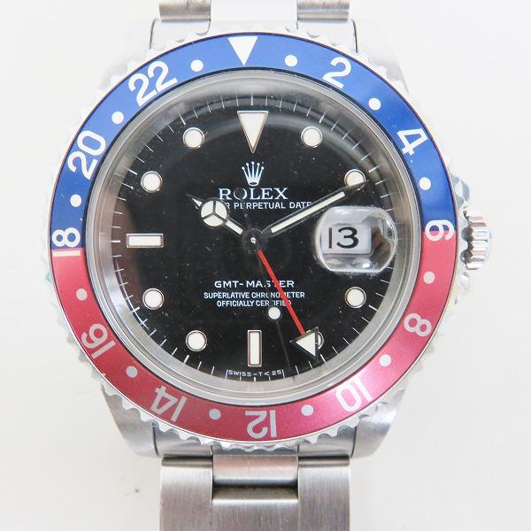 huge discount 822a5 a7946 ロレックス GMT 赤青ベゼル16700 メンズ 腕時計 お売り頂きまし ...