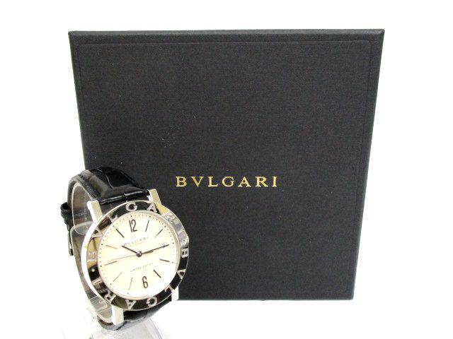 186765dbfefa ブルガリ ブルガリブルガリ リミテッドエディション BB38SL 自動巻 メンズ 腕時計 お買取させていただきました。使わずそのままにしている腕時計  当店にお売り下さい