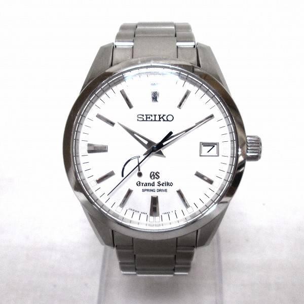 best service 23b6c 10d95 グランドセイコー スプリングドライブ メンズ腕時計お買取りさせ ...
