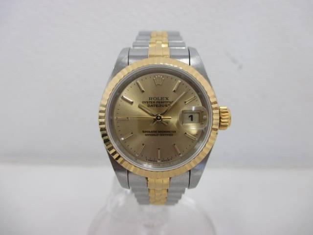 wholesale dealer df5ed 73d6a ロレックス デイトジャスト 69173 お買取りさせていただきました ...